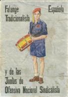 315-*SPAIN CIVIL WAR*10 UNCUT COUPONS*GUERRA CIVIL ESPA�OLA*ARDALES, MALAGA 1941*FALANGE*