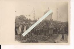 Nord Enterrement Du Lieutenant Manteuffel WWI Ww1 14-18 1.wk 1914-1918 Poilus - Guerre, Militaire