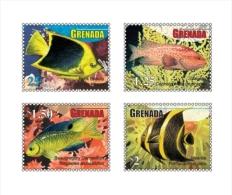 GRENADA  3792-5 ; IGPC  ; MINT N.H STAMPS ( FISH - Grenada (1974-...)