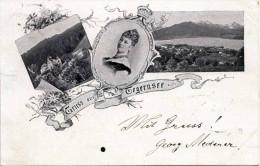 Gruss Aus TEGERNSEE 1897 - Tegernsee