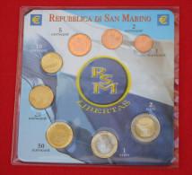 REPUBBLICA SAN MARINO SERIE LIBERTAS 2006/2007 FDC - San Marino