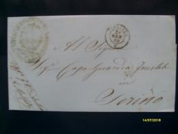 1869 Da Avellino Per SERINO  Fascetta Intera Senza Testo - 1861-78 Victor Emmanuel II.