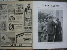 L'ILLUSTRATION 3923 KIPPE/ PEINTURES LEON FELIX / MONT KEMMEL 11 Mai 1918 - Journaux - Quotidiens