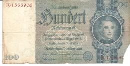 BILLET 100 Reichsmark  30/8/1924 état Voir Les 2 Scans - [ 4] 1933-1945: Derde Rijk
