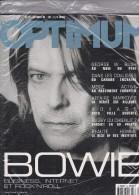 David Bowie    COVER OPTIMUM N°29 - 1950 à Nos Jours