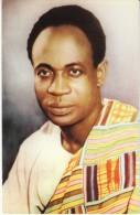 Kwame Nkrumah Ghana Prime Minister Visits USA And Canada, C1950s Vintage Postcard - Ghana - Gold Coast