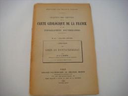 N° 127 - Bulletin Des Services De La CARTE Géologique De La France Et Des Topographies Souterraines  - 1910 -  VL238 - Livres, BD, Revues