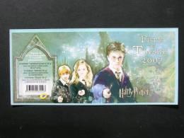 BC 4024a - Couverture Carnet Harry Potter (Fête Du Timbre 2007) - Journée Du Timbre
