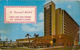 DISNEYLAND:  POSTCARD THE GRAND HOTEL- EDIT- McCOY- Nº 68084-UNCIRCULATED. GECKO - Disneyland