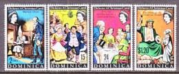 DOMINICA  304-7   *  DICKENS  CHRISTMAS  CAROL - Dominica (...-1978)