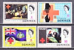 DOMINICA  308-11   *  RED  CROSS - Dominica (...-1978)