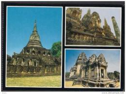 THAILAND POSTCARD - Old Buddhist Temple ** - Tailandia
