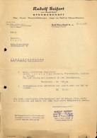 Faktuur Facture Rechnung - Rudolf Seifert - Ofengeschaft -  Karl Marx Stadt - ( Chemnitz ) 1959 - Allemagne