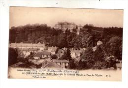 Cp , 10 , BRIENNE LE CHATEAU  , Le Châteaupris De La Tour De L'église , écrite , Ed : Delboy - Other Municipalities