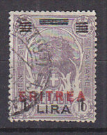 PGL - COLONIE ITALIANE ERITREA SASSONE N°86 - Erythrée