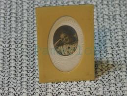 Cadre Ancien En Ivoire De Paris( 7.5 X  5 X  1 Cm Identifié French Ivory ) 4 Scan - Religion & Esotérisme