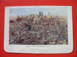AERIAL VIEW OF PHILADELPHIA - Philadelphia
