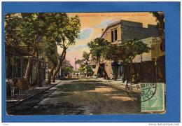 ALEXANDRIE-rue De La Colonne De Pompey -animée- A Voyagé En 1910--belle Oblitération Cairo D - Alejandría