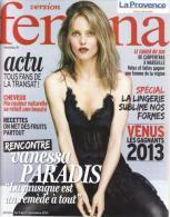"Vanessa Paradis  "" Fémina "" - People"