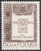 Poland, 60 G. 1967, Sc # 1520, Mi # 1778, MNH - 1944-.... Republic