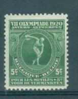 BELGIE - OBP Nr 179 - VIIe Olympiade (Antwerpen) - MNH** - Cote 6,25 € - Bélgica