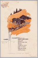 Div. VS 1942.5.5 Menu Spécialitös Domaine Du Mont D'Or - Menus
