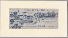 Div. Richterswil 1904-3-16 Teigwaren Fabrik - Ex-libris
