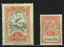 PORTOGALLO - OLIMPIADI AMSTERDAM 1928 - 1 VALORE + SEGNATASSE 1 VALORE NUOVI MNH ** 453 + ST48