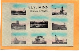 Ely Minn Mining Scenes 1919 Postcard - Andere
