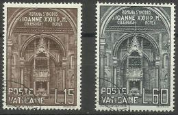 Vatican - 1960 Roman Diocesan Synod Set Of 2 Used  SG 315-6 Sc 273-4 - Oblitérés