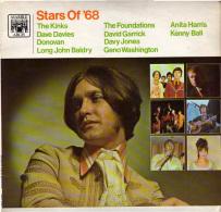 * LP *  STARS OF '68 - KINKS / DONOVAN / FOUNDATIONS / DAVID GARRICK A.o. (Rare!!!) - Disco, Pop