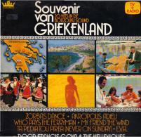 * LP *  FRANCIS GOYA & THE HELLENIQUES - SOUVENIR VAN GRIEKENLAND (Holland 1979) - Instrumentaal