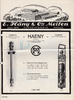 Div. ZH MEILEN E. Häny & Cie Pumpenfabrik - Publicités