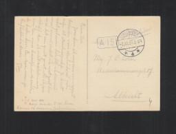 Postkaart 1916 Schoonhoven Militair - 1891-1948 (Wilhelmine)