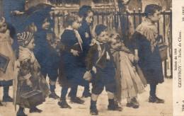 CPA Salon 1919 Geoffroy Sortie De Classe - Illustrateurs & Photographes