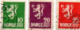 B - 1922 Norvegia - Leone Rampante Con Scure - Norvegia