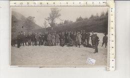 PO6221C# FOTOGRAFIA RICORDO GRUPPO ESCURSIONISTI ? ABETONE MONTE MAIORI - PISTOIA Anni '30 - Places