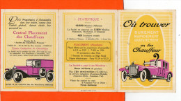 Automobile - Société Des Chauffeurs Français - 103 Rue Lauriston , Paris 16 ème - Cartes Postales