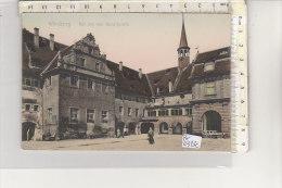 PO6324C# GERMANIA - GERMANY - WURZBURG - HOF DES HEIL - GEIST.SPITALS - Acquerellata  No VG - Wuerzburg