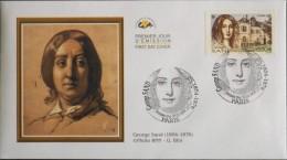 ENVELOPPE 1er JOUR 2004 - George Sand  - Paris Le 20.03.2004 - EN PARFAIT ETAT - - 2000-2009