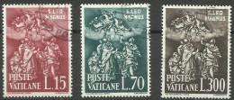 Vatican - 1961 Pope Leo I Set Of 3 Used  SG 343-5 Sc 301-3 - Oblitérés