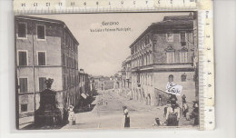 PO6613C# ROMA - GENZANO - VIA LIVIA E PALAZZO MUNICIPALE   No VG - Altre Città
