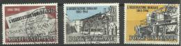 Vatican - 1961 Osservatore Romano Centenary Set Of 3 Used  SG 352-4 Sc 310-2 - Oblitérés