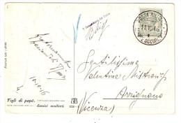 P.M.1915/1923-ALBANIA CARTOLINA POSTA MILITARE TRUPPE OCCUPAZIONE 1 - 1900-44 Vittorio Emanuele III