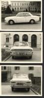 """Alter Oldtimer  """"Ford Taunus P6""""   60iger Jahre  3 Stück   In Sehr Guter Erhaltung!   10,5 X 7,4 Cm - Automobili"""
