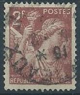 1944 FRANCIA USATO IRIS 2 F - EDF167 - 1939-44 Iris