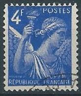 1944 FRANCIA USATO IRIS 4 F - EDF167 - 1939-44 Iris
