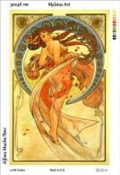 New Tapestry, Gobelin, Picture, Print, Mucha, Dance, Woman - Creative Hobbies