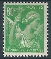 1944 FRANCIA IRIS 80 CENT MH * - EDF168 - 1939-44 Iris