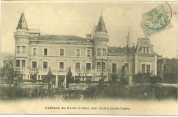 30 SAINT VICTOR DES OULES CHATEAU UZES   GARD - France